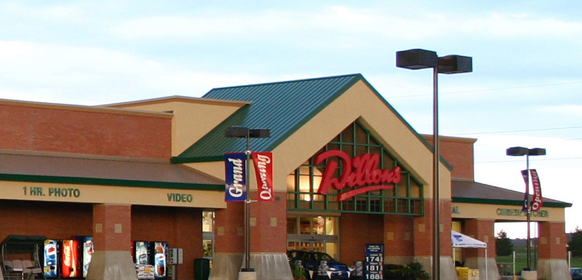 A photo of Dillons Grocery Store.
