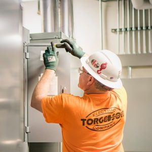 Torgeson Electric industrial project
